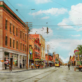 City - Tampa FL -  Franklin Street 1905 by Mike Savad