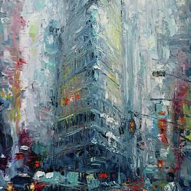 Cityscape-New York by Narek Qochunc