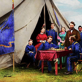 Civil War - Civil war chess set 1861 by Mike Savad