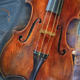 Civil War Era Violin  by Harriet Feagin Photography