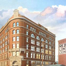 Clabber Girl Building 1896 by C Robert Follett
