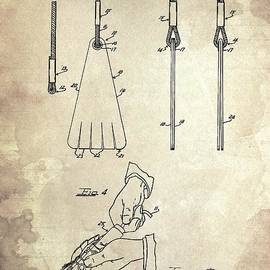 CLARINET Patent Year 1917 by Drawspots Illustrations