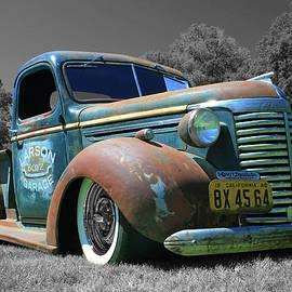 Classic Chevrolet Pickup by Tony Baca