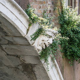 Classic Venetian - Bridge Guardian with a Green Hairdo by Georgia Mizuleva