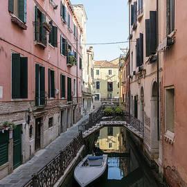 Classic Venetian - Elegant Private Bridges on Rio de San Zanivoro Fondamenta Rimedio by Georgia Mizuleva