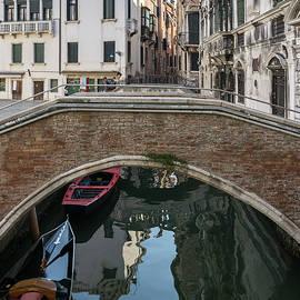 Classic Venetian - Rio Santa Maria Formosa Brick Bridge by Georgia Mizuleva