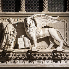 Classic Venetian - Saint Marks Winged Lion Leone Alato di San Marco by Georgia Mizuleva