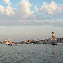 Classic Venetian - Silky Cottony Morning at Saint Mark's Waterfront by Georgia Mizuleva