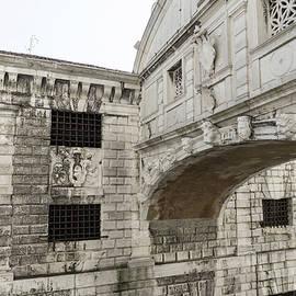 Classic Venetian - Up Close and Personal the Bridge of Sighs Ponte dei Sospiri by Georgia Mizuleva