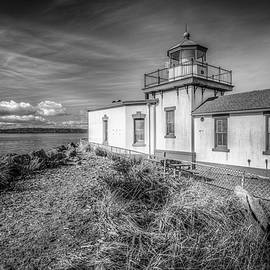 Classic West Point Lighthouse by Spencer McDonald