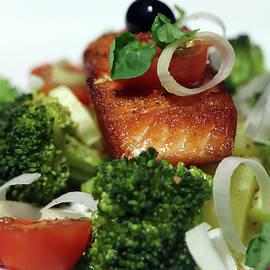 Classy And Delicious Salmon Dinner by Johanna Hurmerinta