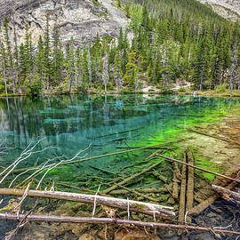 Clear Water of Grassi Lakes by Pierre Leclerc Photography
