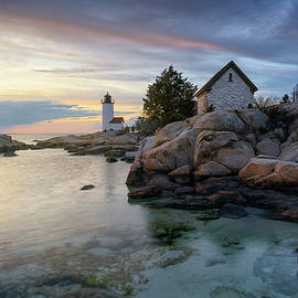 Clearing Storm at Annisquam Lighthouse by Kristen Wilkinson