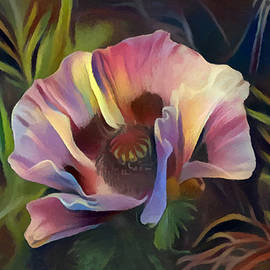 Clematis Flower Painted Digitally by Sandi OReilly