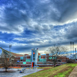Clemson University Tigers 2 Memorial Stadium Frank Howard Field Death Valley Football Art by Reid Callaway