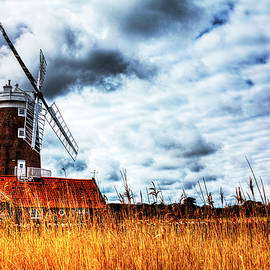 Cley Windmill at Cley next the Sea, Norfolk, England by Paul Thompson