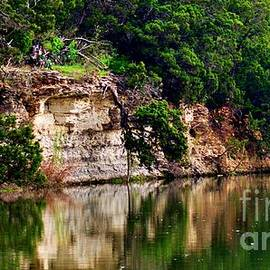 Cliff Reflection by Joseph Kelly