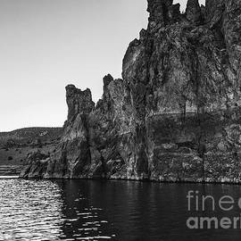 Cliffs at Prineville Reservoir by Julie Pacheco-Toye
