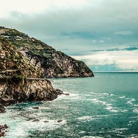 Cliffs of Cinque Terre by Sarah Ventker