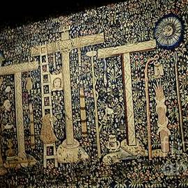 Cloisters tapestry At The Met by Inez Ellen Titchenal