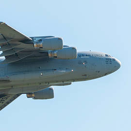 Close up of C 17  by William E Rogers