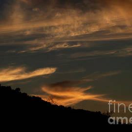 Clouds at sunset by Ruth Jolly