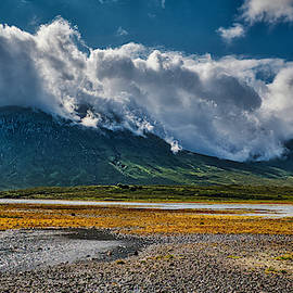 Clouds Hug the Mountains - Scotland by Stuart Litoff