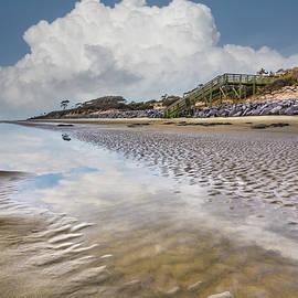 Clouds in the Tidal Pools by Debra and Dave Vanderlaan