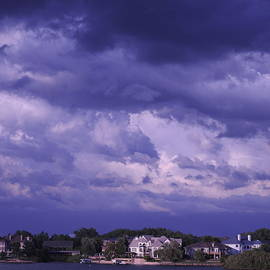 Clouds over Lake Walloon by Barbara Ebeling