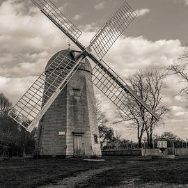 Clouds Over Robert Sherman Windmill by Andrew Pacheco