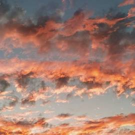 Clouds Painted by God by Esther Newman-Cohen