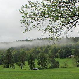 Clouds Rolling in Landscape by Joan Moschella