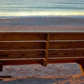 Coastal Bench by Cynthia Guinn