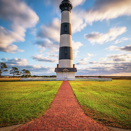 Coastal North Carolina Bodie Island Lighthouse Cape Hatteras National Seashore OBX NC by Dave Allen