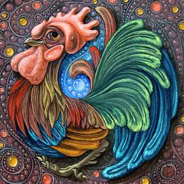 Cockerel by Victor Molev