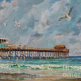 Cocoa Beach Pier by AnnaJo Vahle