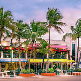Coconuts Tropical Bar and Grill, St. Armand's Circle, Florida by Liesl Walsh