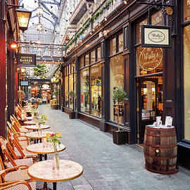 Coffee in The Castle Arcade by Richard Downs