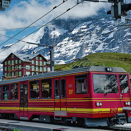 Cog Railway Train Switzerland by Robert Murray