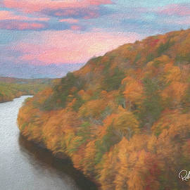 Colebrook  River Lake. by Rusty R Smith