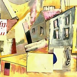 Collage Town Img226 by G Wilson
