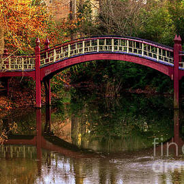College of William and Mary Bridge by Norma Brandsberg