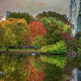 Color in the Public Garden by Joann Vitali