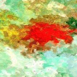 Colorful abstract art colors by Stefano Senise