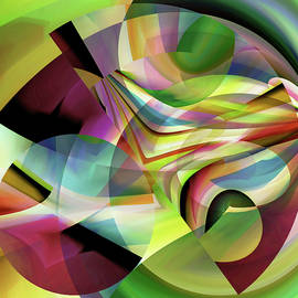Colorful  Abstract  Forms by Grace Iradian