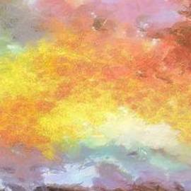 Colorful Abstract Sunset Sky by Stefano Senise