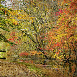Colorful Autumn Canal by Francis Sullivan