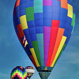 Colorful Balloons by Mark Chandler