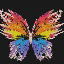 Colorful Butterfly  by Nehemiah Art