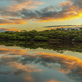 Colorful Cove by Steve Luther